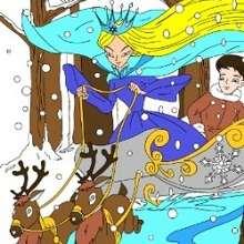 Rompecabezas cuento La Reina de las Nieves