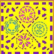 Puzzle en línea : Puzzle de PAPEL PICADO