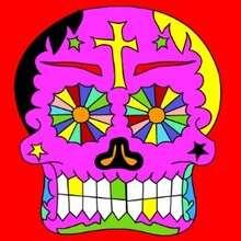 Puzzle en línea : Puzzle CALAVERA dia de los muertos