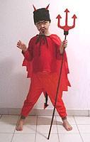 Manualidad infantil : Hacer un disfraz de Diablo