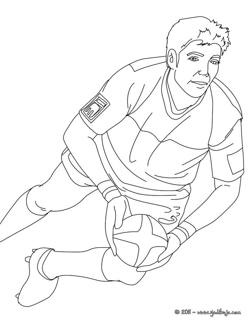 Dibujos para colorear jugador dimitri yashvili - Coloriage de rugby ...