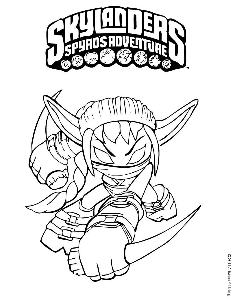 Lujo Skylanders Spyro Para Colorear Colección de Imágenes - Dibujos ...