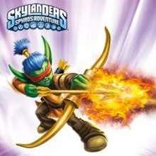 Rompecabezas de FLAME SLINGER Skylanders