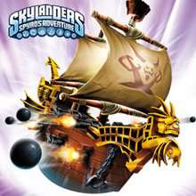 Puzzles BARCO DE PIRATA de Skylanders