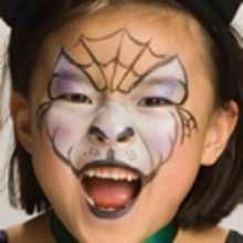 Manualidad infantil : Maquillaje de GATO NEGRO para Halloween