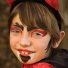 Manualidad infantil : Maquillaje de DIABLO para Halloween