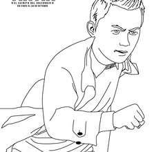Dibujo para colorear : Tintín: el Secreto del Unicornio