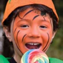Maquillaje de JACK O LANTERN para Halloween - Manualidades para niños - MAQUILLAJE para niños - Maquillajes para HALLOWEEN