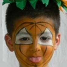 Manualidad infantil : Maquillaje de CALABAZA