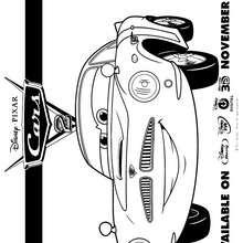 FINN Mc MISSILE para colorear - Dibujos para Colorear y Pintar - Dibujos DISNEY para colorear - Dibujos para colorear DISNEY PIXAR - Dibujos para colorear de CARS