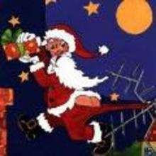 Ilustración : imagen infantil Navidad SANTA CLAUS