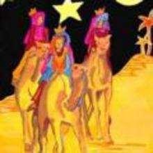 Ilustración : imagen infantil Navidad REYES MAGOS