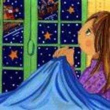 imagen infantil Navidad NIÑA SUEÑA - Dibujar Dibujos - Imagenes para niños - Imagenes infantiles NAVIDAD