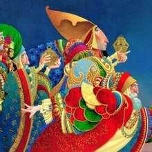 Ilustración : Imagen de Navidad los 3 Reyes Magos
