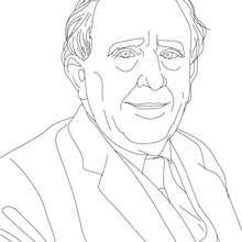 J.R.R. TOLKIEN para colorear - Dibujos para Colorear y Pintar - Dibujos para colorear PERSONAJES - PERSONAJES HISTORICOS para colorear - BRITÁNICOS famosos para colorear - AUTORES Y ESCRITORES BRITÁNICOS