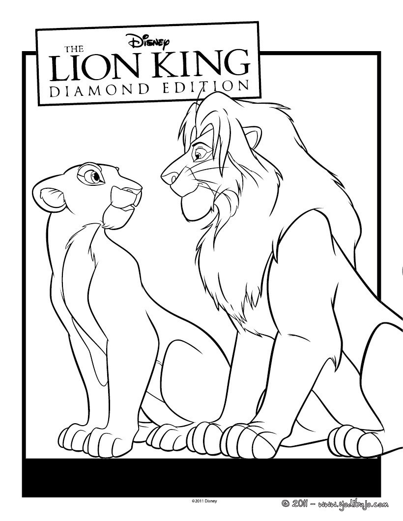Simba Cub Lineart 3 331358164 likewise Lion King Hakuna Matata Silhouette besides Nala Y Simba also Lion Line Drawing furthermore Colouring Pages Disney Junior Coloring Bestofcoloring For. on lion king nala coloring pages