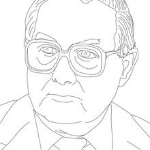 Primer Ministro JAMES CALLAGHAN para colorear