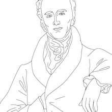 Dibujo para colorear : Primer Ministro CHARLES GREY