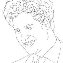 Dibujo para colorear : PRÍNCIPE HARRY