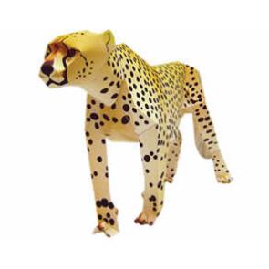 Actividades manuales de guepardo de papel 3d - es ...