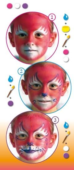 Maquillaje GATO ROSA