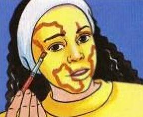 Maquillaje JIRAFA