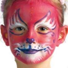 Maquillaje GATO ROSA - Manualidades para niños - MAQUILLAJE para niños - Maquillaje ANIMALES