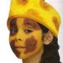 Maquillaje JIRAFA - Manualidades para niños - MAQUILLAJE para niños - Maquillaje ANIMALES