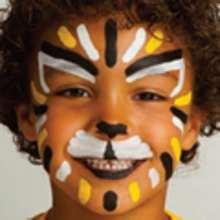 Maquillaje LEON - Manualidades para niños - MAQUILLAJE para niños - Maquillaje ANIMALES