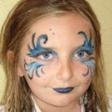 Carnaval con niños, Maquillaje ARTÍSTICO