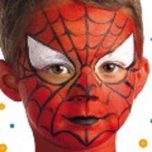 Carnaval con niños, Maquillaje SUPERHEROE