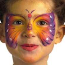 Maquillaje MARIPOSA - MAQUILLAJE para niños - Manualidades para niños
