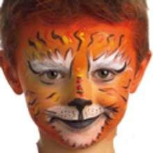 Maquillaje TIGRE - Manualidades para niños - MAQUILLAJE para niños - Maquillaje ANIMALES