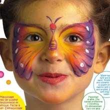 Maquillajes de MARIPOSAS para niñas - Manualidades para niños - MAQUILLAJE para niños - Maquillajes de CARNAVAL