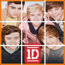 Puzzles de la boyband ONE DIRECTION