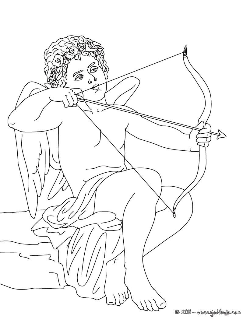 Dibujos de los DIOSES GRIEGOS para colorear - Dibujos para colorear ...