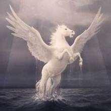 Rompecabezas de PEGASO, el caballo con alas