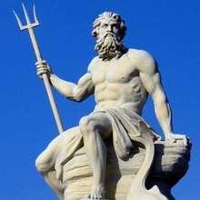 Puzzle de POSEIDON, el Dios de las mares