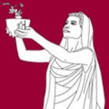 mitología, Dibujos de las DIOSAS GRIEGAS para colorear