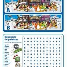 Juego de las diferencias PINGÜINOS - Juegos divertidos - Juegos de DIFERENCIAS para niños - Juegos de DIFERENCIAS para imprimir