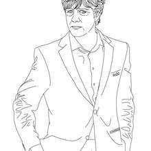 Dibujo para colorear : Jogi Law
