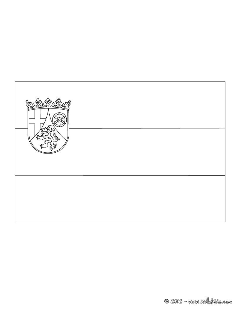 dibujos para colorear escudo de renania  eshellokids