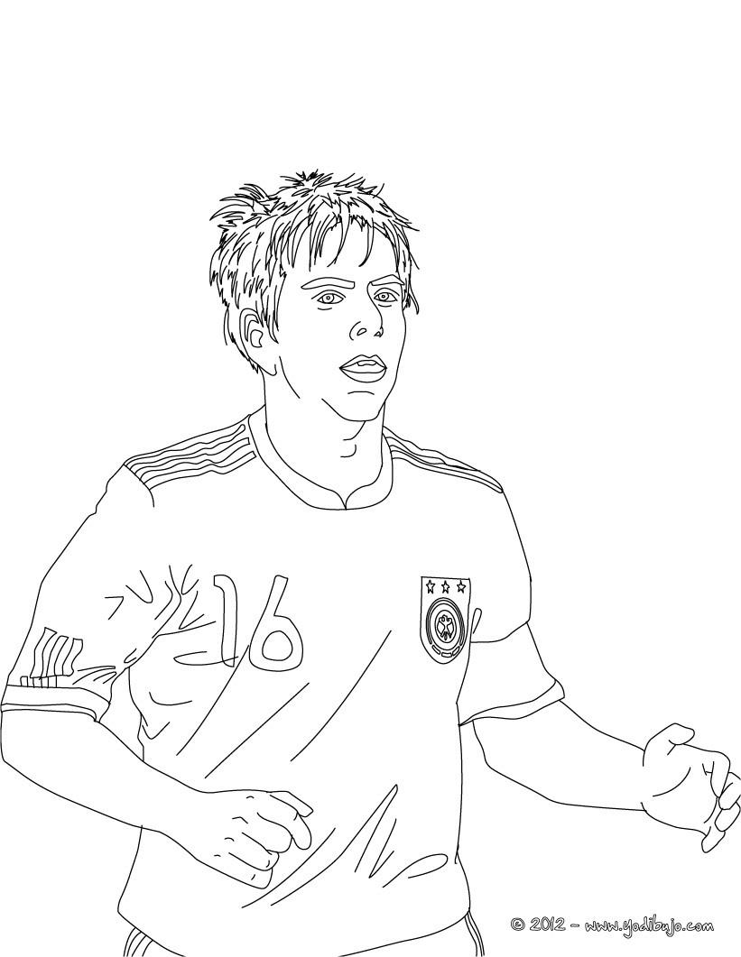 Dibujos para colorear neymar - es.hellokids.com