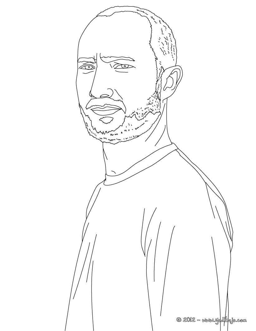 dibujos para colorear el dj paul kalkbrenner