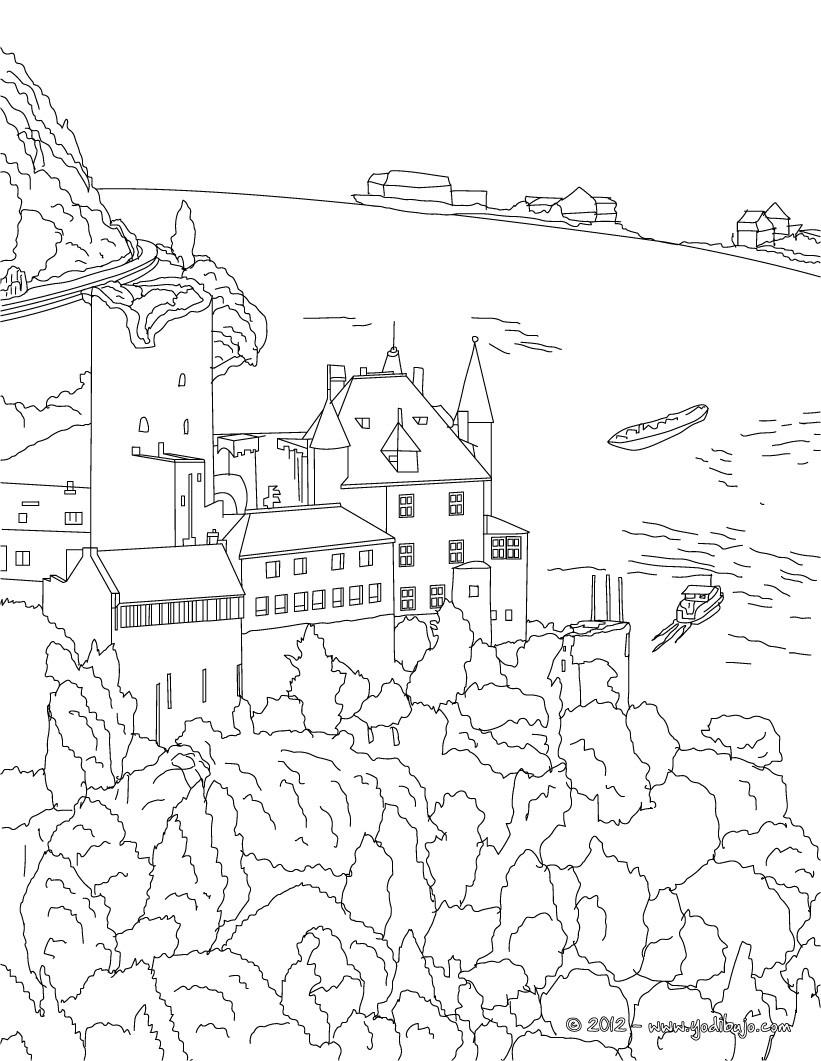 Dibujos para colorear iglesia frauenkirche en dresde - es.hellokids.com
