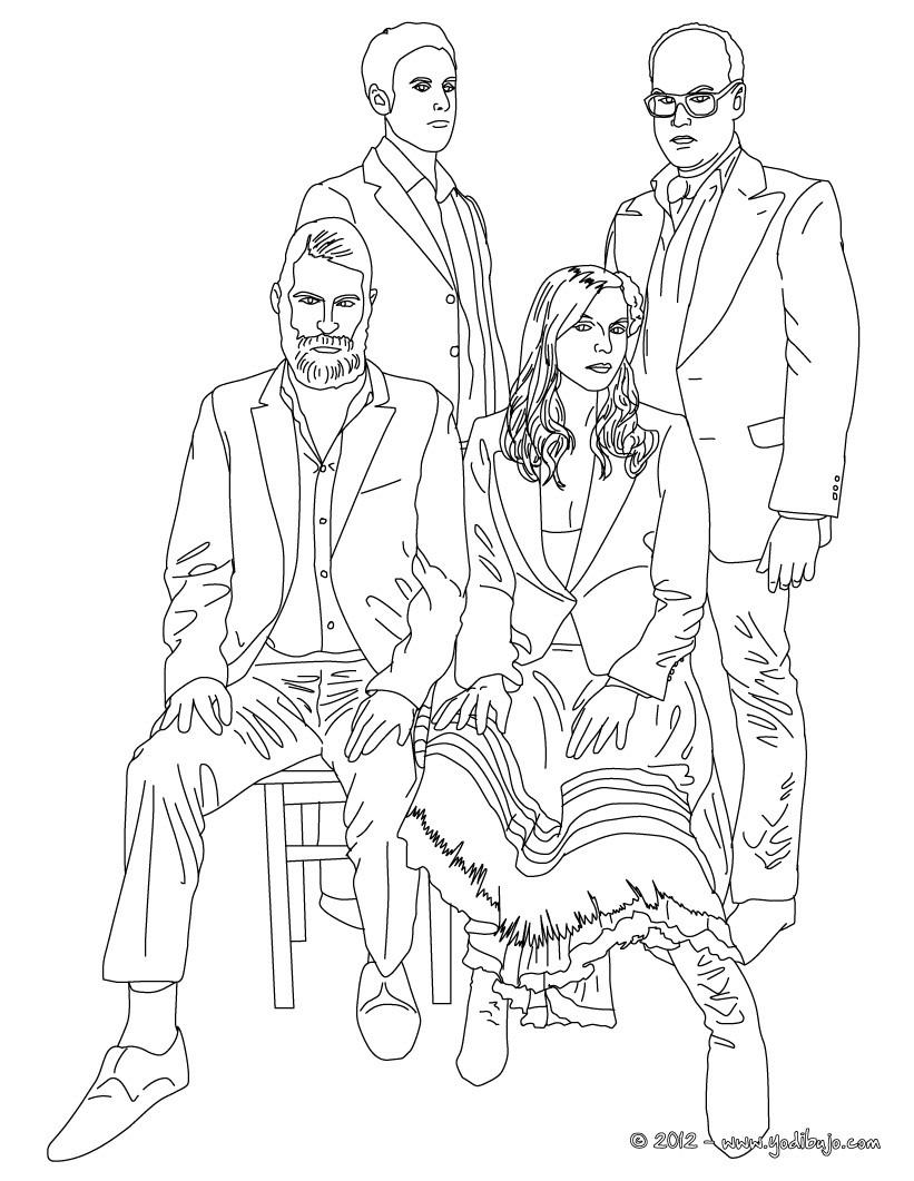 Dibujos para colorear personajes historicos - es.hellokids.com