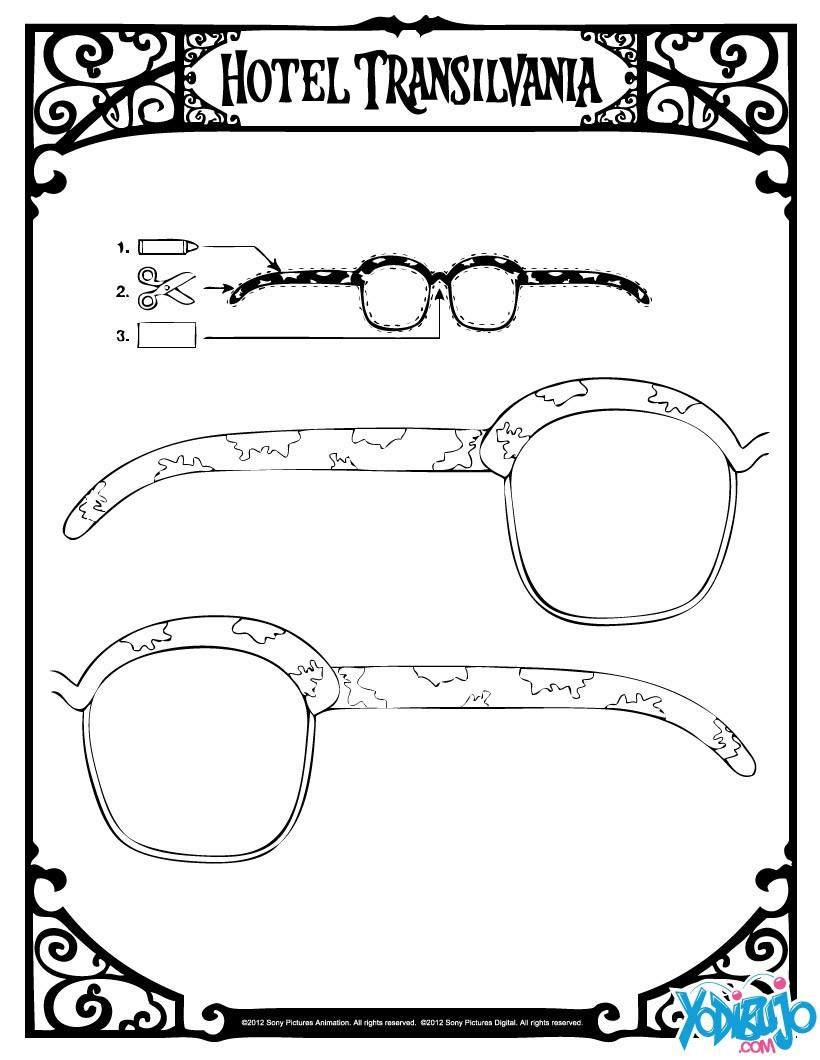 628ea0cc36 Gafas : Dibujos para Colorear, Lecturas Infantiles, Manualidades ...