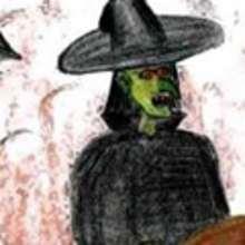 La bruja negra - Dibujar Dibujos - Dibujos de NIÑOS - HALLOWEEN dibujos de niños