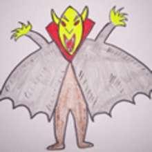 Dibujar Halloween - un vampiro - Dibujar Dibujos - Aprender cómo dibujar paso a paso - Dibujar dibujos FIESTAS DEL AÑO - Dibujar dibujos HALLOWEEN