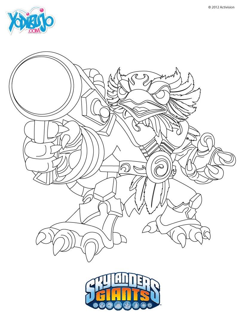 Único Imaginators De Skylanders Para Colorear Imagen - Dibujos Para ...